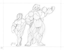 OGC MUSCLE WORSHIP MEME Panel by PS286