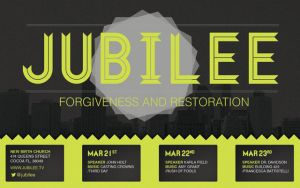 Jubilee Church Flyer Template by loswl
