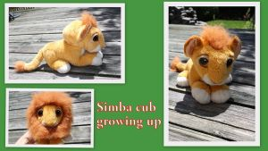 Simba growing up cub by Laurel-Lion