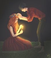 I See In You The Light - Orange by Stephaniegm