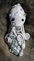 Barnacle Octopus Magnet by BlackMagdalena