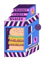 PARTY FOOD - EMERGENCY CHEESE BURGER by laresistance