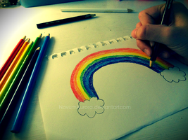I'm building a rainbow for you by NovumAurora