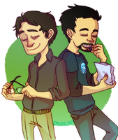science bros, now in color by dandeliar