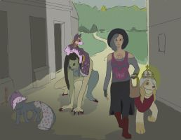 Prompt 23: Market Trip by your-undead