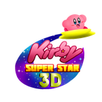 Kirby Super Star 3D (logo competition entry) by swim-fin