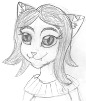 Sylvia drawn with help by DoubleSNL