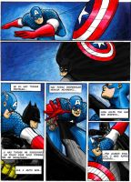 batman vs captain america pg2 by rocksilesbarcellos