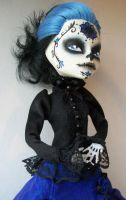 Monster High Custom Skelita day of the dead by AdeCiroDesigns