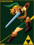 LoZ: A Link to the Past Vector by green-tk