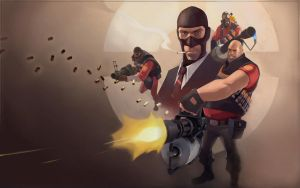 TF2 RED Wallpaper by Matt2010