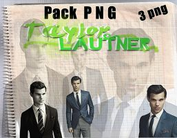 Pack png Taylor Lautner by Carol05