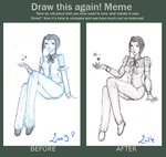 Before and After meme  Ellula by Maggy-mitchi