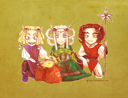 Elven Christmas 2016 by neshirys