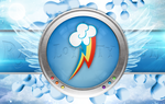 Rainbow Dash Cutie Mark Wallpaper by MLArtSpecter