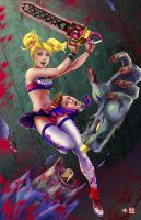 Lollipop Chainsaw (2014 Redraw) by TyrineCarver