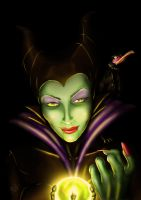 Comm: Maleficent by steevinlove