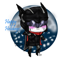 Happy Holidays D-NightRain by cutecat54546