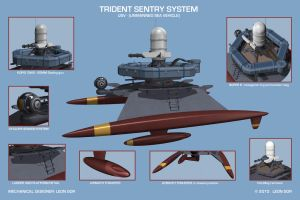 Trident - USV detail by HeavyMetalDesigner