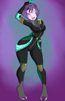 Zala'Ima in new Suit by xXVSilverPhoenixVXx