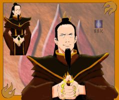 The Rings of Ozai colored by BB-K