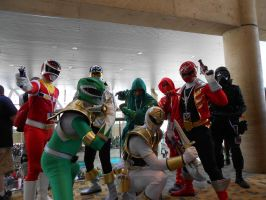 Otakon 2012 - Power Rangers Group Cosplay by Angel1224