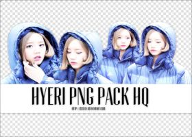 4 PNG Pack HQ - Hyeri (Girls Day) by jessyly