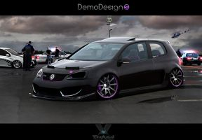 Volkswagen Golf GTI by DemoDesign