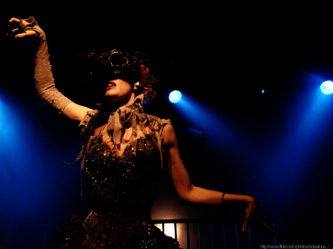 Emilie Autumn live in Warsaw, 20.03.2012 by october-song