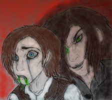 Jekyll and Hyde : confrontation 2 by ArtistOfDawn