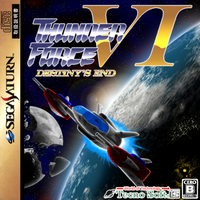 Thunder Force VI: Destiny's End cover by The-Coop