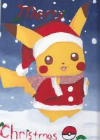 Pikachu Christmas by xXJenn19