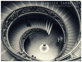 Spiral Stairs by Jengingerpeps