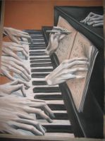 Hands at the Piano by ScarletBegonias88