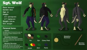 Sergeant Wolf Reference Sheet 2015 by pikminpedia