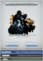 Counter-Strike: Global Offensive - Icon by Crussong
