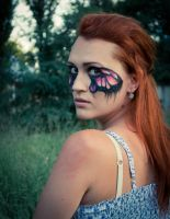 Butterfly make up by Meariku