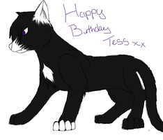 Happy Birthday Tess by XDYingYang