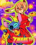 Stitch and Efina:THANK YOU!! by 13on13on