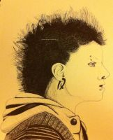 Girl with the Dragon Tattoo by LauraBlackmore