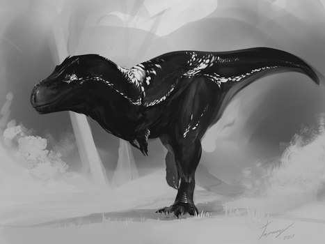 Feather rex  sketch by Tapwing