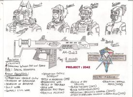 USA SFOD-D/Delta Force 2042 by BlackKnife12