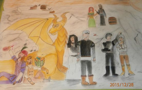 Witcher New Year by talisath