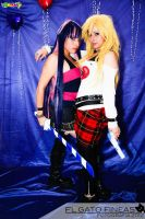Panty and Stocking Rock by RinaMx