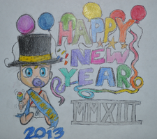 New Year 2013! by doodle-guy7