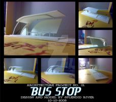 Project 1 Model: Bus Stop by splendidriver
