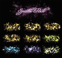 Sparkle Pack 03 by Just-A-Little-Knotty