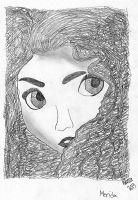 Merida Sketch by grandduchesscrazy