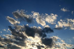 Sky and Clouds 4 by AttempteStock