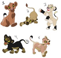 Cub Adopts 17 CLOSED by Howler-Adoptables
